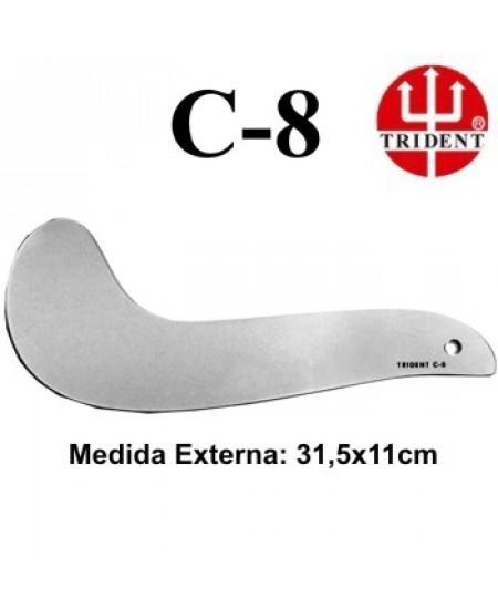 Régua de Corte e Costura Trident C-08