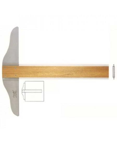 Régua  T  80cm Madeira Trident 5308