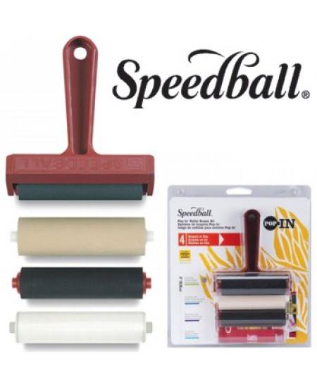 Rolo Para Xilogravura e Gravura em Metal  4 em 1 Speedball