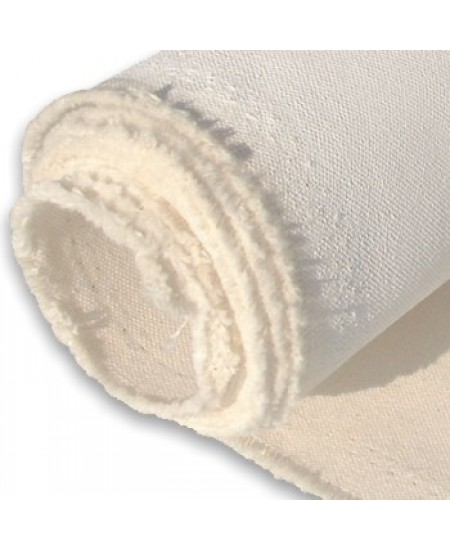 Rolo de Tecido em Algodão Para Tela Preparada 1,65 x 50,00mt