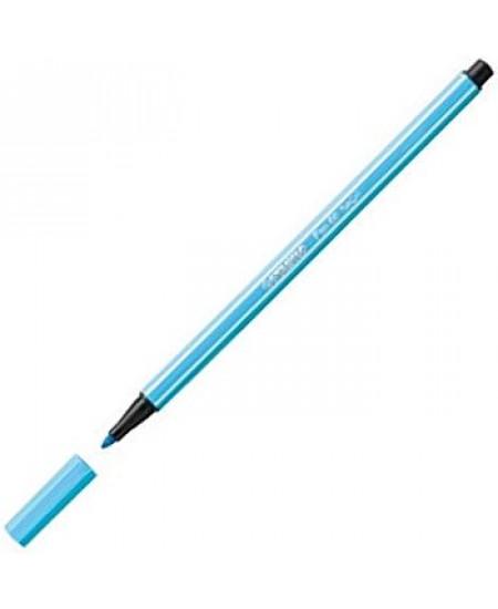 Caneta Stabilo Pen 68 57 Azul Claro