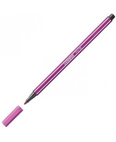 Caneta Stabilo Pen 68 58 Roxo
