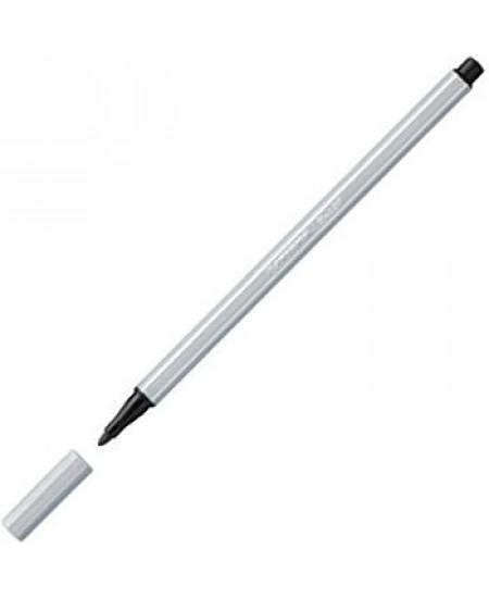 Caneta Stabilo Pen 68 94 Cinza Claro