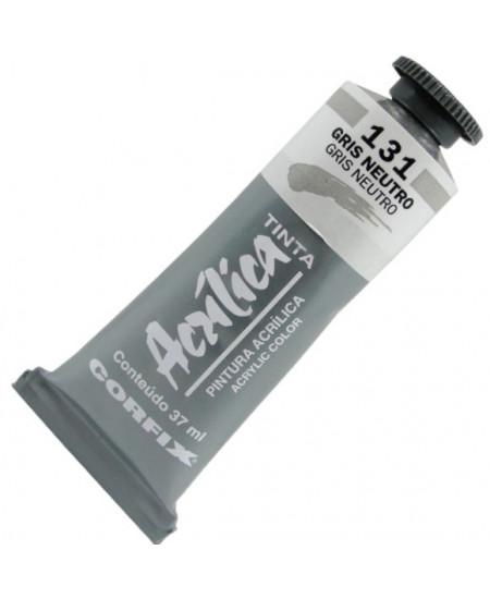 Tinta Acrílica Corfix 37ml 131 Gris Neutro