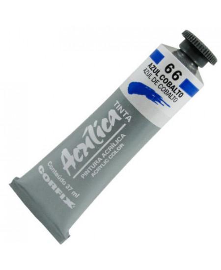 Tinta Acrílica Corfix 37ml  66 Azul Cobalto