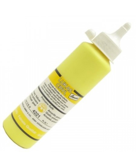 Tinta Acrílica Lukas Cryl Liquid 4221 Primary Yellow