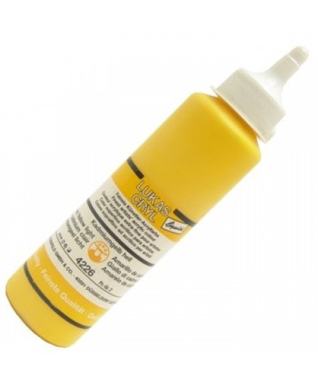 Tinta Acrílica Lukas Cryl Liquid 4226 Cadmium Yellow Light