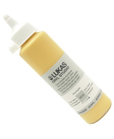 Tinta Acrílica Lukas Cryl Studio 250ml 4634 Naples Yellow
