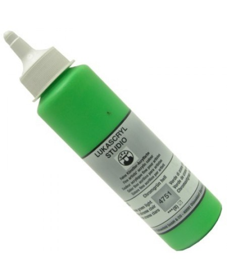 Tinta Acrílica Lukas Cryl Studio 250ml 4751 Chrome Green Light