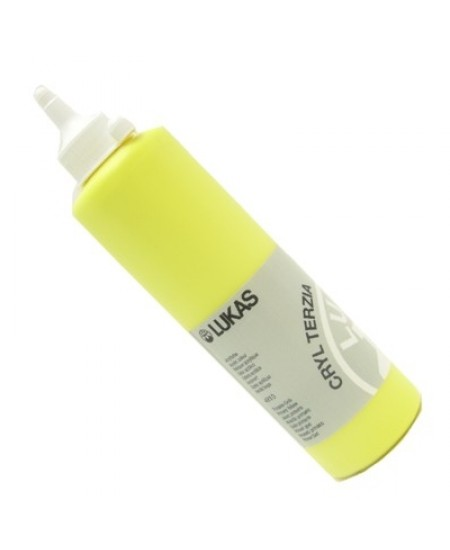 Tinta Acrílica Lukas Terzia 500ml 4810 Primary Yellow