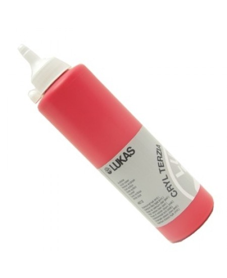 Tinta Acrílica Lukas Terzia 500ml 4872 Cadmium Red Light