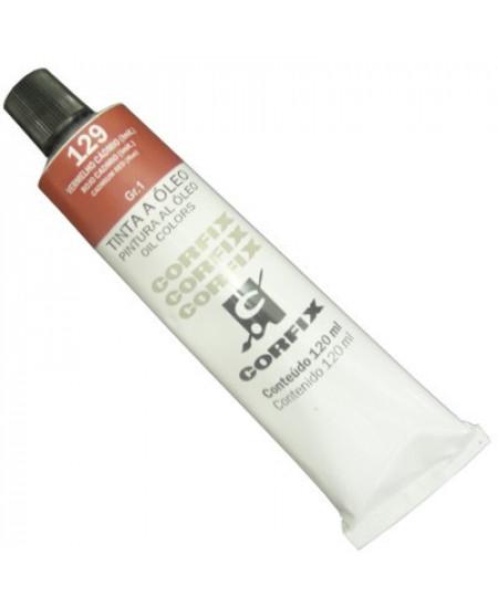 Tinta a Óleo Corfix 120ml 129 Vermelho Cád. (IMIT)