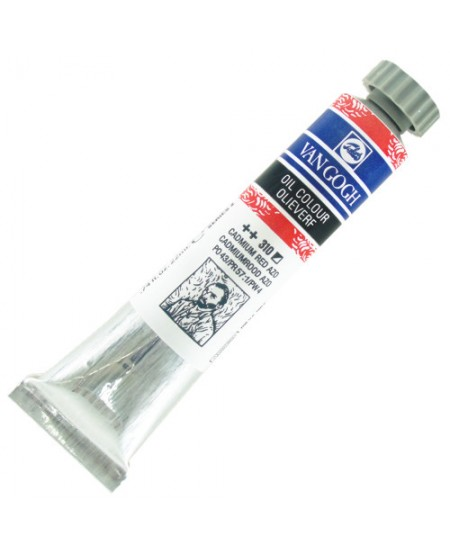 Tinta Óleo Van Gogh 20ml 310 Cadmium Red Azo