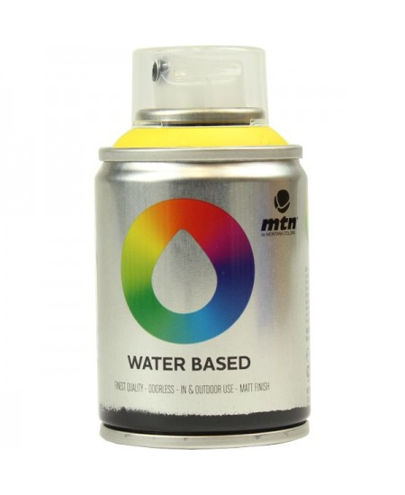 Tinta Spray Acrílico MTN Water Based RV-1021 Cad. Yellow Medium
