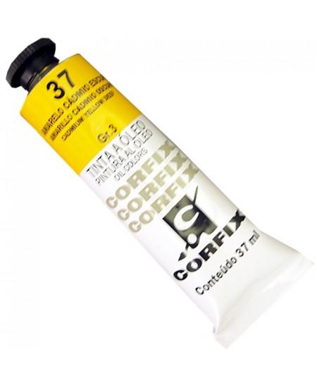 Tinta a Óleo Corfix 37ml  37 Amarelo Cádmio Escuro - G3