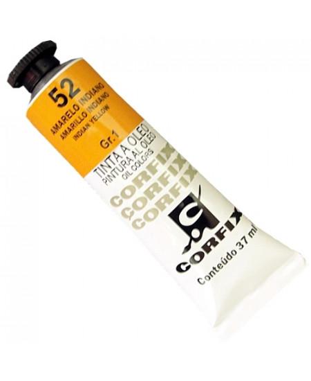 Tinta a Óleo Corfix 37ml  52 Amarelo Indiano - G1