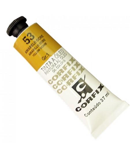 Tinta a Óleo Corfix 37ml  53 Amarelo Ocre - G1