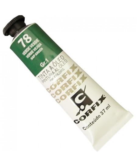Tinta a Óleo Corfix 37ml  78 Verde Vessie - G1