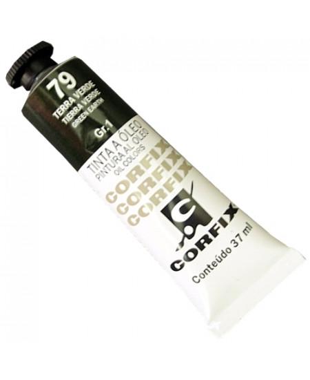 Tinta a Óleo Corfix 37ml  79 Terra Verde - G1