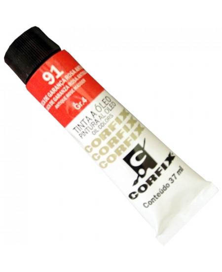 Tinta a Óleo Corfix 37ml  91 Laca de Garança Rosa Antiga - G4