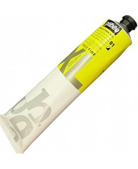 Tinta a Óleo Pébéo XL Studio 01 Amarelo Cádmio Limão 200ml