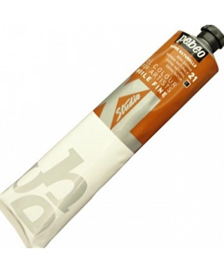 Tinta a Óleo Pébéo XL Studio 21 Siena Natural 200ml