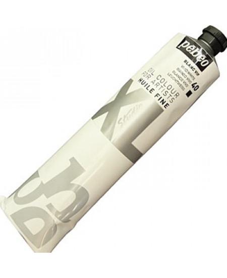 Tinta a Óleo Pébéo XL Studio 40 Branco Vivo 200ml