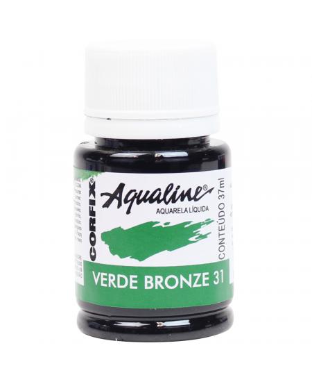 Aqualine Aquarela Líquida 31 Verde Bronze 37ml Corfix