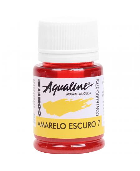 Aqualine Aquarela Líquida 07 Amarelo Escuro 37ml Corfix