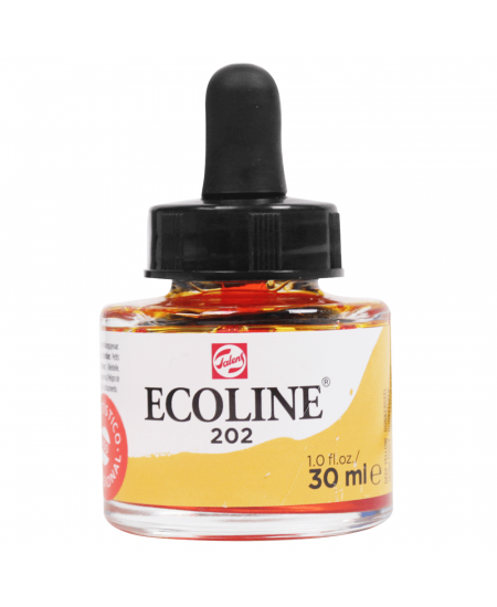 Aquarela Líquida Ecoline Talens 30ml 202 Deep Yellow