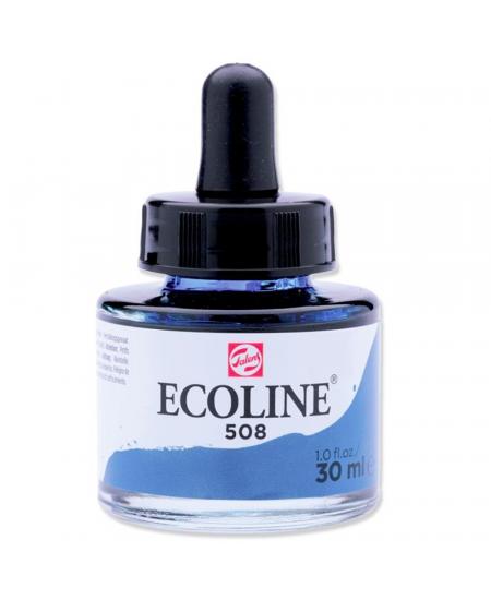 Aquarela Líquida Ecoline Talens 30ml 508 Prussian Blue
