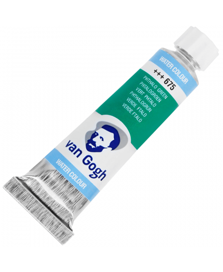 Aquarela Van Gogh Bisnaga 10 ml 675 Phthalo Green