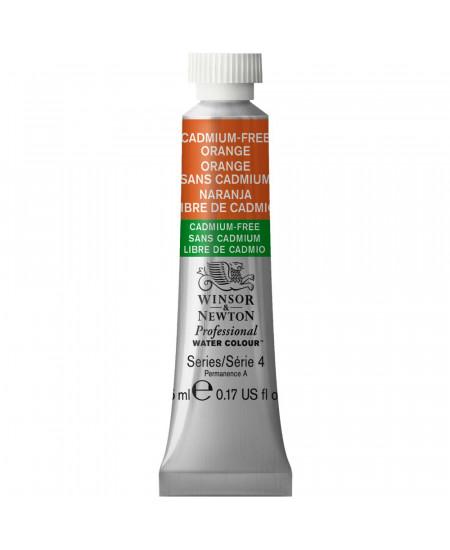 Tinta Aquarela Profissional Winsor & Newton Tubo 5ml S4 899 Cadmium-Free Orange