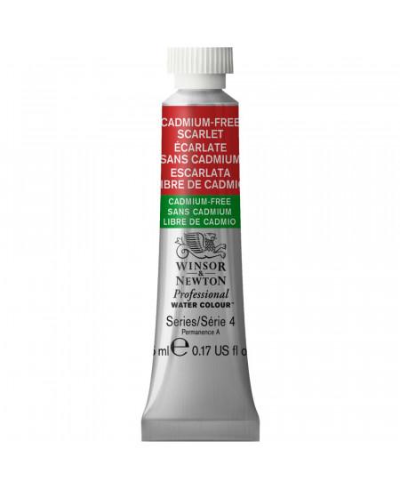 Tinta Aquarela Profissional Winsor & Newton Tubo 5ml S4 903 Cadmium-Free Scarlet