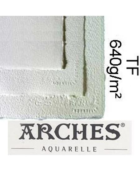 Papel para Aquarela Arches TF Canson 56x76 640g/m²
