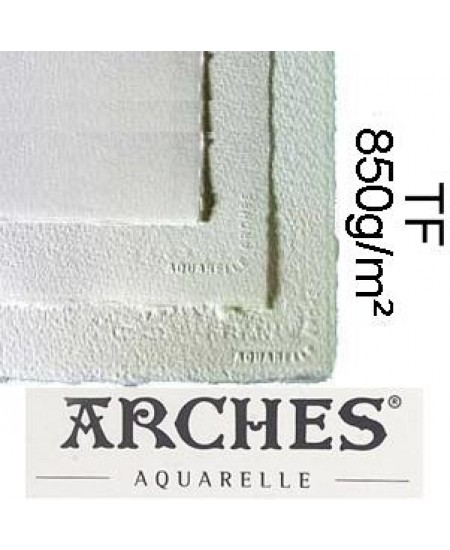 Papel para Aquarela Arches TF Canson 56x76 850g/m²
