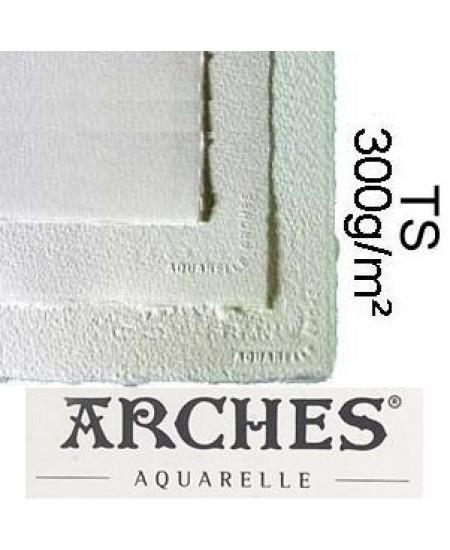 Papel para Aquarela Arches TS Canson 56x76 300g/m²
