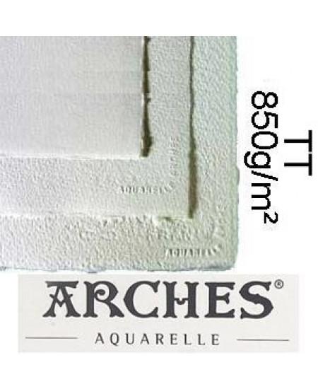 Papel para Aquarela Arches TT Canson 56x76 850g/m²