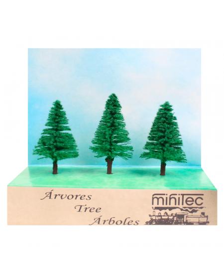Árvore Para Maquete 771 Minitec 03 Peças