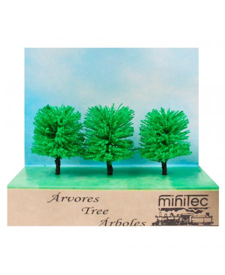Árvore Para Maquete 772 Minitec 03 Peças