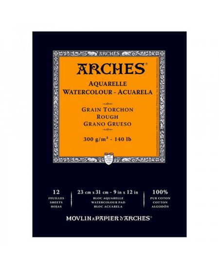 Bloco Papel Aquarela Arches Canson TT 300g