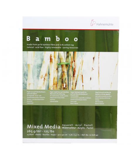 Bloco Para Aquarela Bamboo Hahnemühle 30x40cm