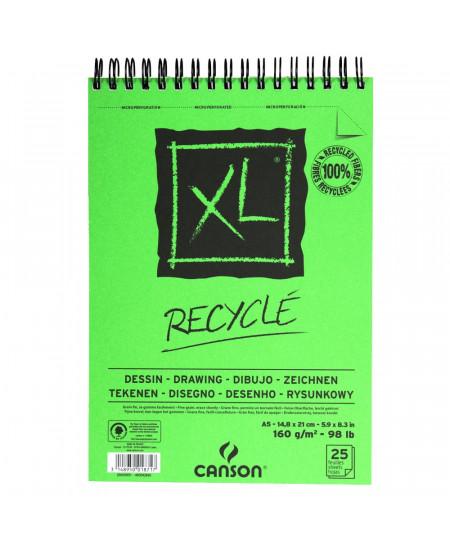 Bloco Papel Desenho Recyclé XL 160g