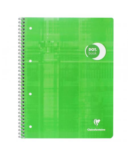 Caderno Pontilhado Dot Book Clairefontaine A4+ Verde