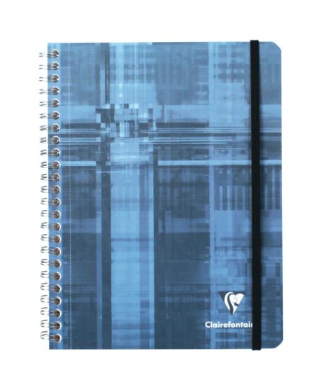 Caderno Pautado Pocket Book Clairefontaine A5+ Azul
