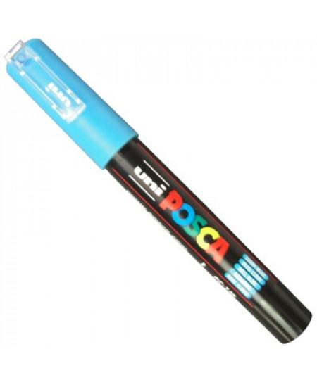 Caneta Posca Uni Ball PC-1MC Azul Claro