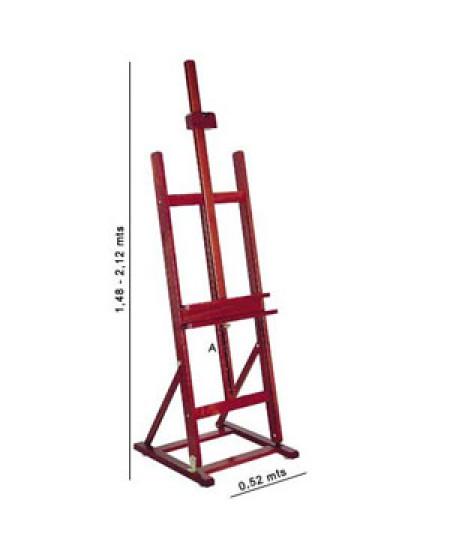 Cavalete Pintura Estúdio Compacto Trident 12221