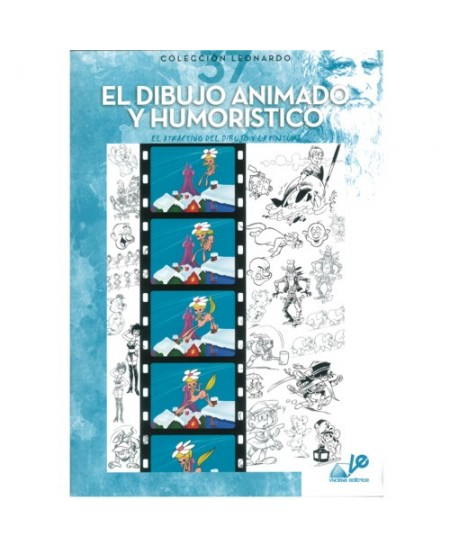 El Dibujo Animado Y Umoristico - Coleção Leonardo 37