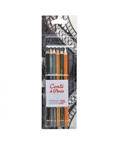 Kit de Lápis Conté à Paris Crayon e Grafite 50105