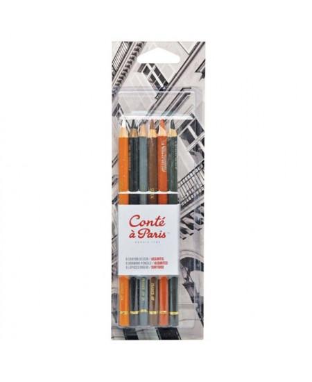 Kit de Lápis Conté à Paris Crayon 50106
